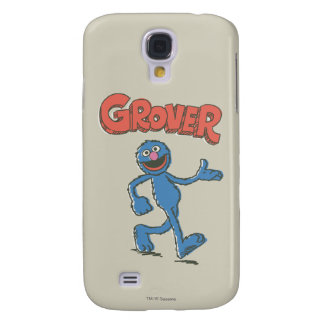 Grover Vintage Kids 2 Galaxy S4 Case