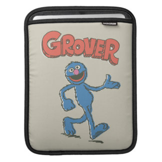 Grover Vintage Kids 2 Sleeve For iPads