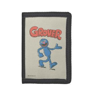 Grover Vintage Kids 2 Tri-fold Wallet