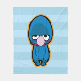 Grover Zombie Fleece Blanket