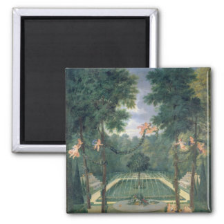 Groves of Versailles Square Magnet
