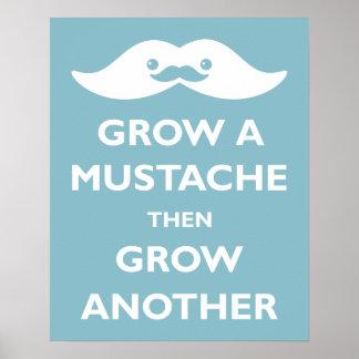 Grow a Moustache! Poster