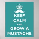 Grow a Moustache Posters