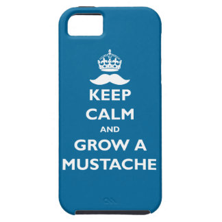 Grow a Mustache iPhone 5 Cases