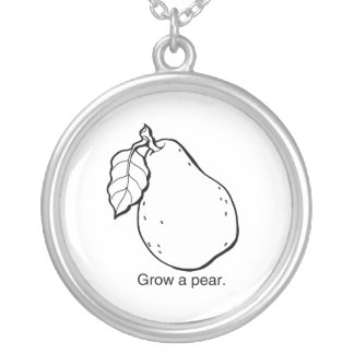GROW A PEAR - png Custom Jewelry