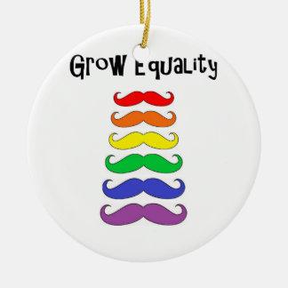 Grow Equality Christmas Ornament