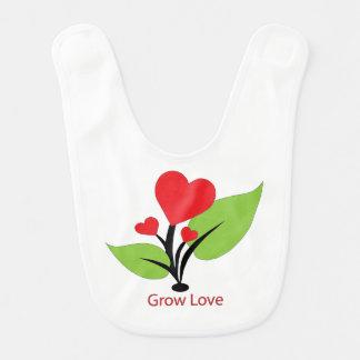 Grow Love Bib