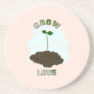 Grow love coaster