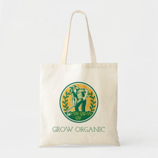 Grow Organic Tote Bag