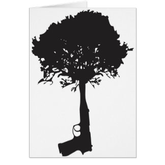 grow-peace greeting card