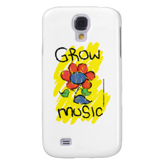 Grow Some Music. Cool Musical Flower Design Galaxy S4 Case