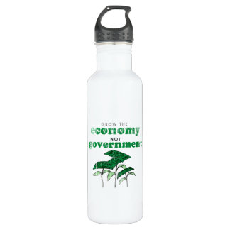 Grow the Economy not government 710 Ml Water Bottle