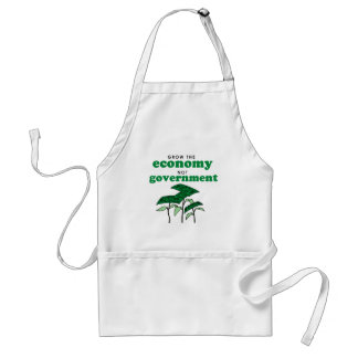 Grow the Economy not government Standard Apron