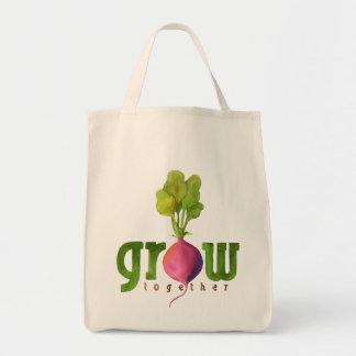 Grow Together (Radish) Tote Bag