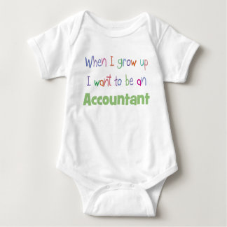 Grow Up Accountant Infant Creeper