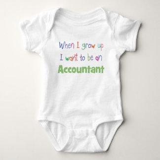 Grow Up Accountant Infant Creeper