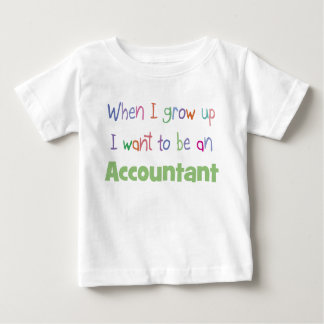 Grow Up Accountant Infant T-Shirt