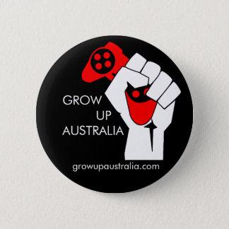Grow up Australia - Badge