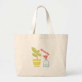 Grow Up Jumbo Tote Bag