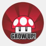 Grow Up Red Mushroom Powerup