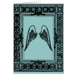 Grow wings thank you card