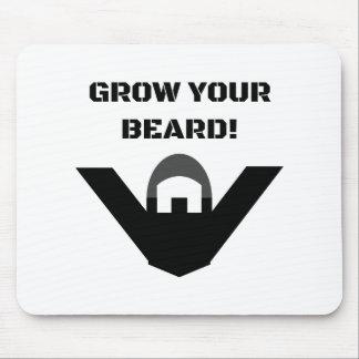 Grow Your Beard Mousepad