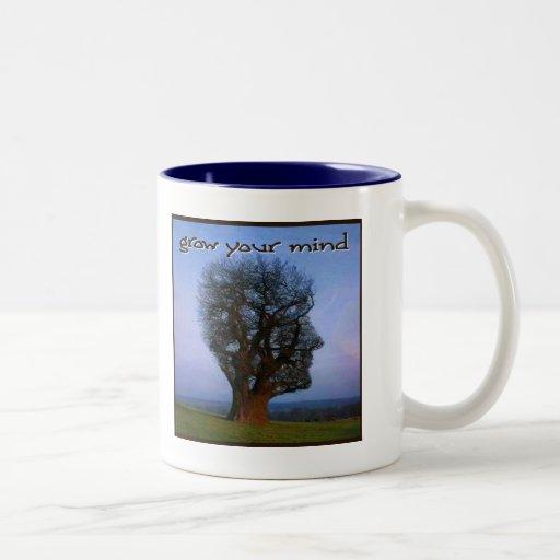 Grow Your Mind Coffee Mugs