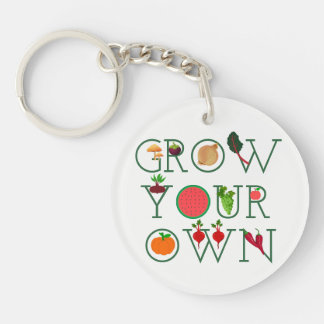 Grow Your Own Key Ring