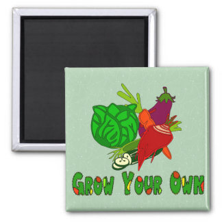 Grow Your Own Refrigerator Magnet