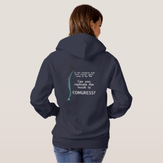 Growing a Spine Hoodie