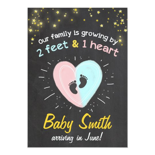 Growing family pregnancy announcement