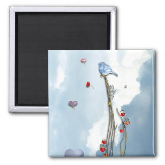 Growing Love! Square Magnet