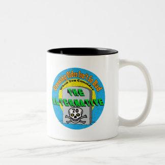 Growing Older 70th Birthday Gifts Mug