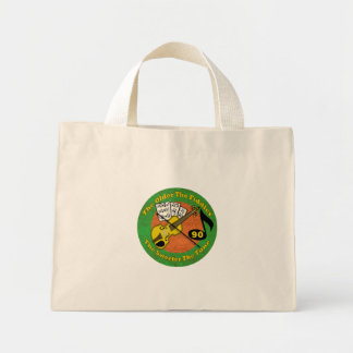 Growing Older 90th Birthday Gifts Mini Tote Bag