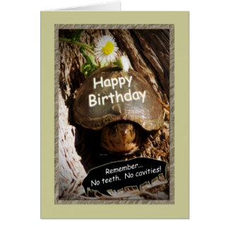 Growing Older Birthday Card