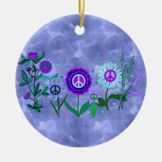 Growing Peace Christmas Ornament