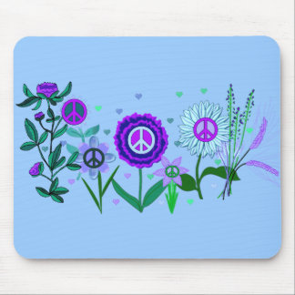 Growing Peace Mouse Mat