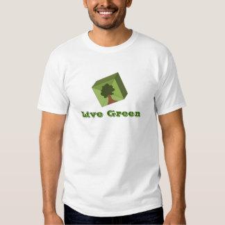 Growing Tree Live Green Tee Shirts