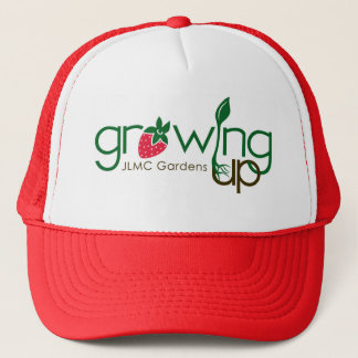 GROWING UP GARDENS TRUCKER HAT