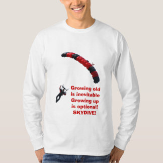 Growing up is optional - Long T-Shirt