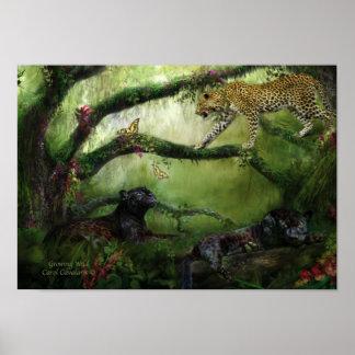 Growing Wild Art Poster/Print