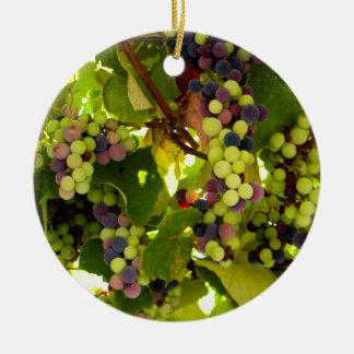 Growing Wine Christmas Ornament