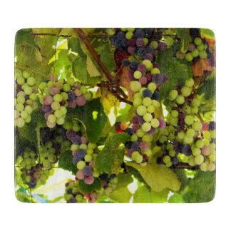 Growing Wine Cutting Board