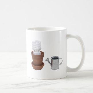 GrowingGreenClayPot062709 Coffee Mug