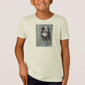 Growling Bernese Mountain Dog Puppy T-Shirt