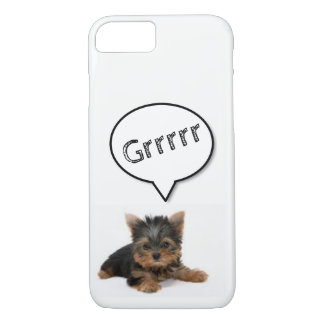 Growling Puppy! iPhone 8/7 Case