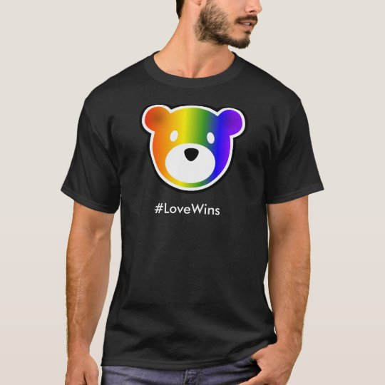 GROWLr #LoveWins Dark T-Shirt