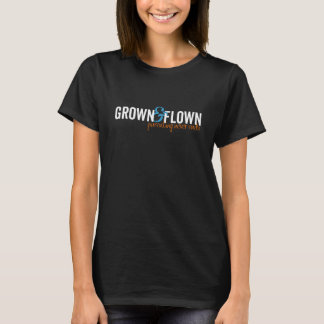 Grown and Flown Horizontal Women's Dark T-Shirt