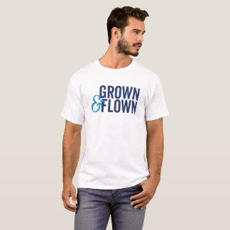 Grown and Flown Men's Light Colored T-Shirt