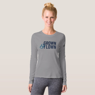 Grown & Flown Long Sleeve Women's T-Shirt